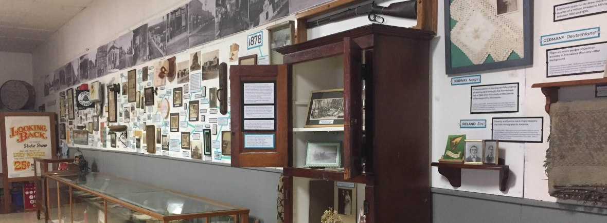 Museum wall timeline